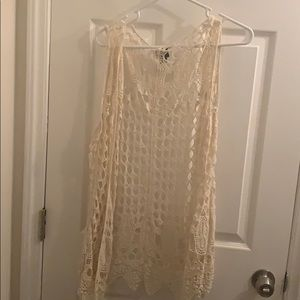 Daytrip Crochet Vest large
